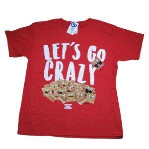 Cinnamon Toast Crunch Cereal General Mills Red Tee